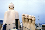 Chimneys on Casa Milà