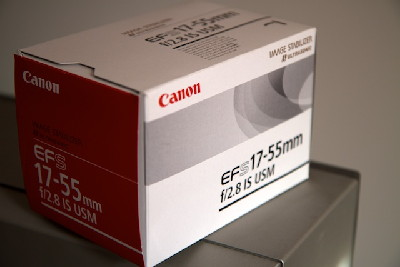 Canon 17-55mm f/2.8 IS USM lens