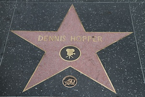 Dennis Hopper - Walk of Fame
