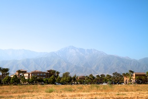 Mountains near Rancho Cucamonga
