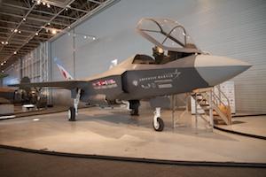 F-35 mock-up