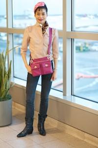 Rosa at JFK