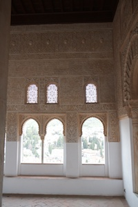 Alhambra interior decorations