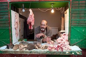 Tétouan butcher