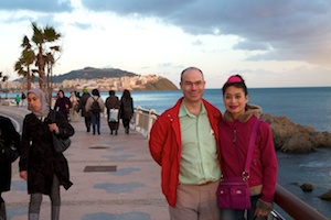 Richard and Rosa in Ceuta