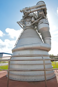 F-1 engine from Saturn V (S-IC first stage)