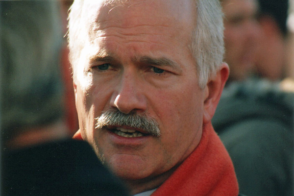 The late Jack Layton