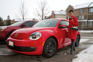 Rosa's new 2012 VW Beetle