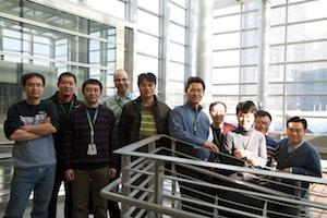 The Ericsson team in Beijing