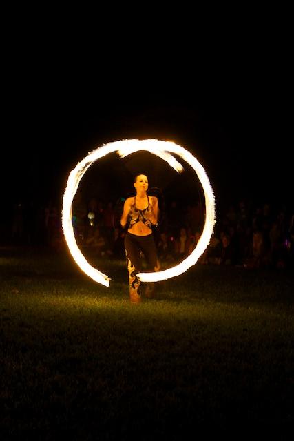 2012 Lumière Festival - Fire Weavers.
