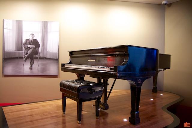 Glenn Gould's piano