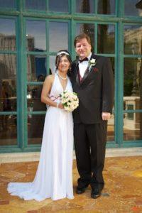 Don and Ke's wedding at the Bellagio.