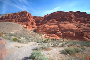 Beautiful Red Rock Canyon.